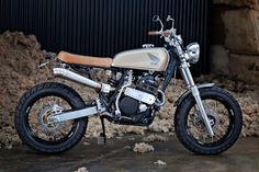 Ruote Rugginose: Nat's XR 600 Street Tracker