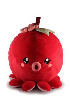 Fruitimals Cherry Octopus Plush Toy