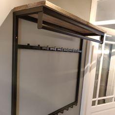 Welded Furniture, Diy Furniture, Modern Furniture, Steel Railing, Corner Window Seats, Diy Floor Lamp, Entryway Coat Rack, Diy Shoe Rack, Living Room Green