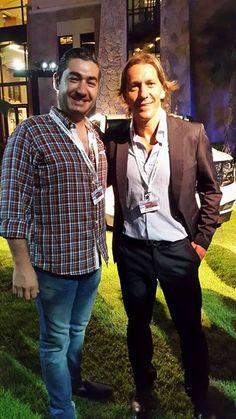 With Football Star Michel Salgado (Real Madrid)