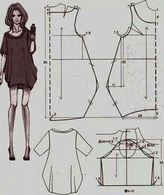 Cartamodello abito