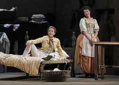"""Kate Lindsey, left, and Lisette Oropesa appear in San Francisco Opera's delightful production of """"The Marriage of Figaro."""" COURTESYSAN FRANCISCO OPERA/CORY WEAVER"""