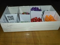 Rosary box from unused pvc card and box #diy #rosary #rosarybox #recycledbox #catholics #rosaryforfamily