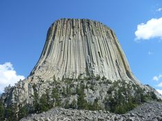 Devil's Tower WY from my cross country drive with my brother [OC] [4320x3240]