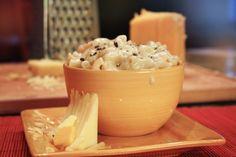 Mac & Cheese homestyle - true COMFORT food - yum!