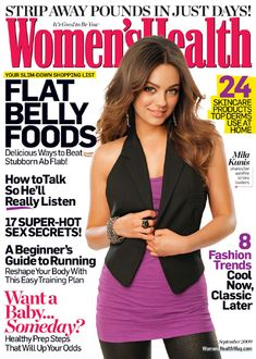 Love this magazine, few adds and a lot of great workouts and nutrition tips.