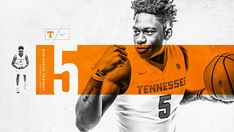 Tennessee Basketball on Behance Sports Graphic Design, Graphic Design Posters, Graphic Design Typography, Sport Design, Poster Designs, Basketball Drawings, Men's Basketball, Yearbook Sports Spreads, Fb Banner