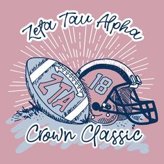 Zeta Tau Alpha Crown Classic Helmet Design Fall in Love with Delta Gamma Autumn Design by College Hill Custom Threads. Create original custom designs or browse our design gallery. We specialize in custom Greek T-Shirts and products. Sorority Shirt Designs, Sorority Shirts, Zeta Tau Alpha, Alpha Chi, Sigma Kappa, Delta Gamma, Class Of 2018 Shirts, Cheer Shirts, Soccer Shirts