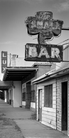 Jürgen Vogt - SMALL BAR Grants New Mexico 8 ½˝× 17˝ Edition 15 10˝× 20˝ Edition of 11 Larger images available on request