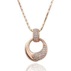 #Бижута #напромоция, #Русе: #Колие за дами с австрийски кристали и розово златно покритие. Цена с намаление от 34.99 лв. на 24.99 лв. Безплатна кутийка за бижута или подаръчна кадифена торбичка. За повече информация: тел. 098 897 4231 или на https://www.iziskani.com/bijuta-za-jeni-swarovski-kolie-online-bijuta-kd28.html