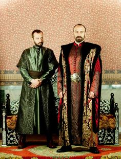 Sultan Suleiman and his visier