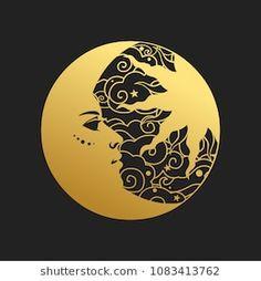 Find Moon Sun Vector Illustration Retro Style stock images in HD and millions of other royalty-free stock photos, illustrations and vectors in the Shutterstock collection. Moon Tattoo Designs, Moon Design, Moon Art, Portfolio, Fractal Art, Mandala Art, Stars And Moon, Resin Art, Body Art Tattoos