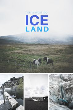 The 12 must-see spots in Iceland as you plan your trip to this ridiculously beautiful island.   via @goawesomplaces