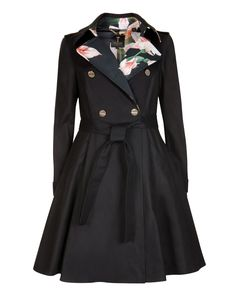 83a84bf75ebfc1 Flared skirt trench coat - Ted Baker. I wanted this forever and ...