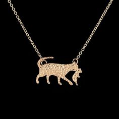 Mother's Love Cat Necklace