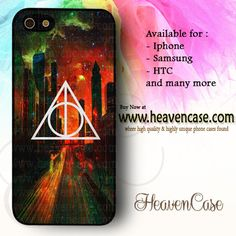 Deathly Hallows Dark City Orange available For Iphone 4/4s/5/5s/5c case , Samsung Galaxy S3/S4/S5/S3 mini/S4 Mini/Note 2/Note 3 case , HTC One X , HTC One M7 case , HTC One M8 case and many more , check our website www.heavencase.com