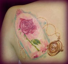 Beauty and the Beast tattoo.