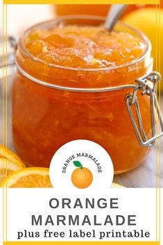 Bright and citrus-filled, homemade orange lemon marmalade will brighten any winter's morning. With a bit of preparation now, you can easily make and preserve this marmalade then enjoy it in the months to come. Orange Marmalade Recipe, Lemon Marmalade, Jelly Recipes, Fruit Recipes, Gf Recipes, Orange Jam Recipes, Recipes With Oranges, Jam And Jelly, Canning Recipes