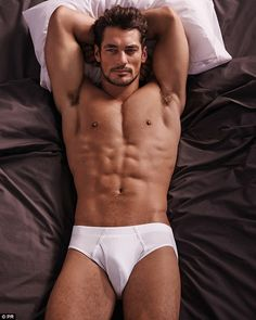 Following the global success of the David Gandy for Autograph underwear debut last year, he says swimwear seemed like a natural step