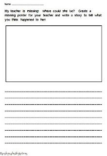 Worksheets Miss Nelson Is Missing Worksheets pinterest the worlds catalog of ideas pair this cute writing assignment with harry allard and james marshalls miss nelson is missing