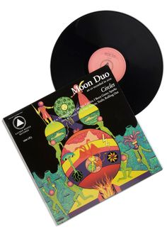 Circles by Moon Duo LP. Treat your ears to a feast of psychedelic-indie fusion by setting your record players needle on Moon Duos fourth album, Circles.  #modcloth