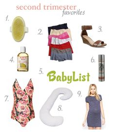 An anti-cellulite brush, maternity spanx, hair color spray, and an inappropriately shaped pillow -- second trimester favorites Exercise During Pregnancy, Trimesters Of Pregnancy, My Pregnancy, Maternity Spanx, Dry Body Brushing, Summer Maternity Fashion, Color Spray, Second Trimester, Preparing For Baby