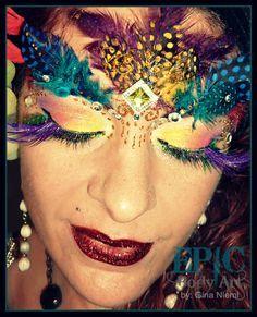 exotic+body+painting+ideas   ... body paint, mua, halloween makeup, exotic, mardi grau costume ideas