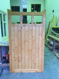 Wooden Side Gate