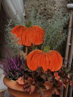 dýně Decoupage, Air Dry Clay, Autumn Inspiration, Clay Art, Wonderful Time, Cement, Stencil, Objects, Pumpkin