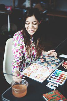 One of my favorite illustrators, Leah Goren | Boots & Pine