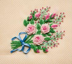 вышивка рококо мк: 6 тыс изображений найдено в Яндекс.Картинках Bullion Embroidery, Wool Embroidery, Cross Stitch Embroidery, Floral Embroidery, Silk Ribbon Embroidery, Embroidery Designs, Brazilian Embroidery, Embroidered Flowers, Embroidery Techniques