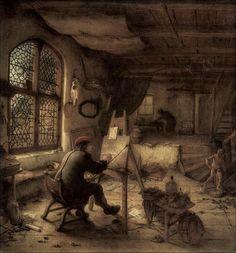 Adriaen Jansz  Van OSTADE (1663)