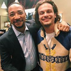 Matthew and Damon
