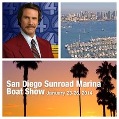 Join Ron Burgundy and the Channel 4 News Crew at the San Diego Boat Show this weekend! Kidding, unfortunately they can't join us this weekend, but you should! See more at sail.corsairmarine.com/san-diego-boat-show-this-weekend #corsairmarine #ronburgundy #channel4 #sandiego #sdboatshow #sailing #california #ussailing