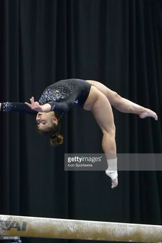 UCLA's Katelyn Ohashi performs on the balance beam during the finals of the NCAA Women's Gymnastics National Championship on April at Chaifetz Arena in St. Gymnastics History, All About Gymnastics, Women's Gymnastics, Amazing Gymnastics, Gymnastics Posters, Artistic Gymnastics, Action Pose Reference, Action Poses, Madison Kocian