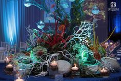Stunning Reception and Wedding Centerpieces from Occasions by Shangri-La