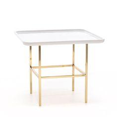 Se Collection III Olympia Side Table Brass | Twigs + Twills Blog | www.twigsandtwills.com