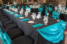 Black  teal wedding- Ottawa Wedding www.rsvp-events.ca