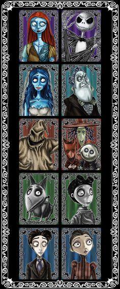 Tim Burton Memory by The-Demons-Within.deviantart.com on @deviantART