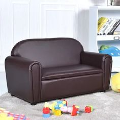 Shop for Gymax Kids Sofa Armrest Chair Lounge Couch Wood Construction Storage Box Living Room. Get free delivery On EVERYTHING* Overstock - Your Online Furniture Outlet Store! Toddler Sofa, Kids Sofa, Toddler Furniture, Bedroom Chair, Sofa Chair, Kids Bedroom, Bedroom Furniture, Kids Rooms, Sofa Bed