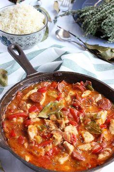 Spicy meat gumbo / Guiso de carne especiado | Cocina