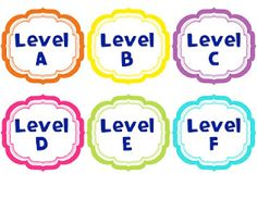 Laughing & Learning: Free guided reading basket labels