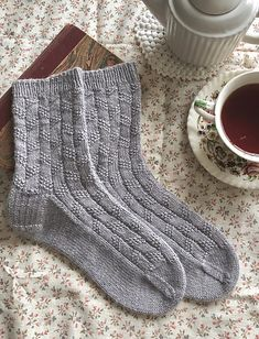 Edward socks Ravelry: Edward socks pattern by Ambrose Smith Always aspired to figure out how to knit, nevertheless unclear where to s. Knitting Stitches, Knitting Socks, Baby Knitting, Knit Socks, Knitting Machine, Vintage Knitting, Free Knitting, Ravelry, Crochet Shoes