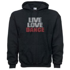 Rhinestone Live Love Dance Hoodie Sweatshirt Many Colors ($38) ❤ liked on Polyvore featuring plus size fashion, plus size clothing, plus size tops, plus size hoodies, dark olive, sweatshirts, women's clothing, sweat shirts, olive shirt and hooded sweatshirt