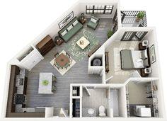21 - apartamento de um quarto