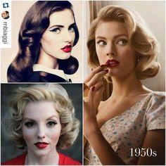 Resultado de imagem para cabelo vintage tumblr
