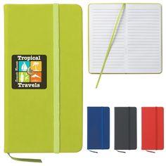 #6961 3 ½ X 6 ½ Journal Notebook