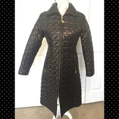 ☃Winter Wear☃ Leather Baby Phat Trench Like new condition, no imperfections. Long leather trench with gold lining. Two side pockets gold hardware with baby phat kitten on each zipper. All leather, lining 100% polyester. Baby Phat Jackets & Coats Trench Coats