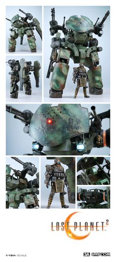 1/12th scale GTF-11 Drio Vital Suit first!