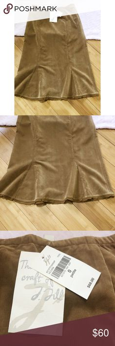 "J. Jill skirt NWT J. Jill skirt  Size: 0P  Measurements Approx:  Waist: 14"" Length: 26.5""  Style: 621075 Color: Vicuna   Material: 100% Rayon   Any questions please let me know thank you J. Jill Skirts"